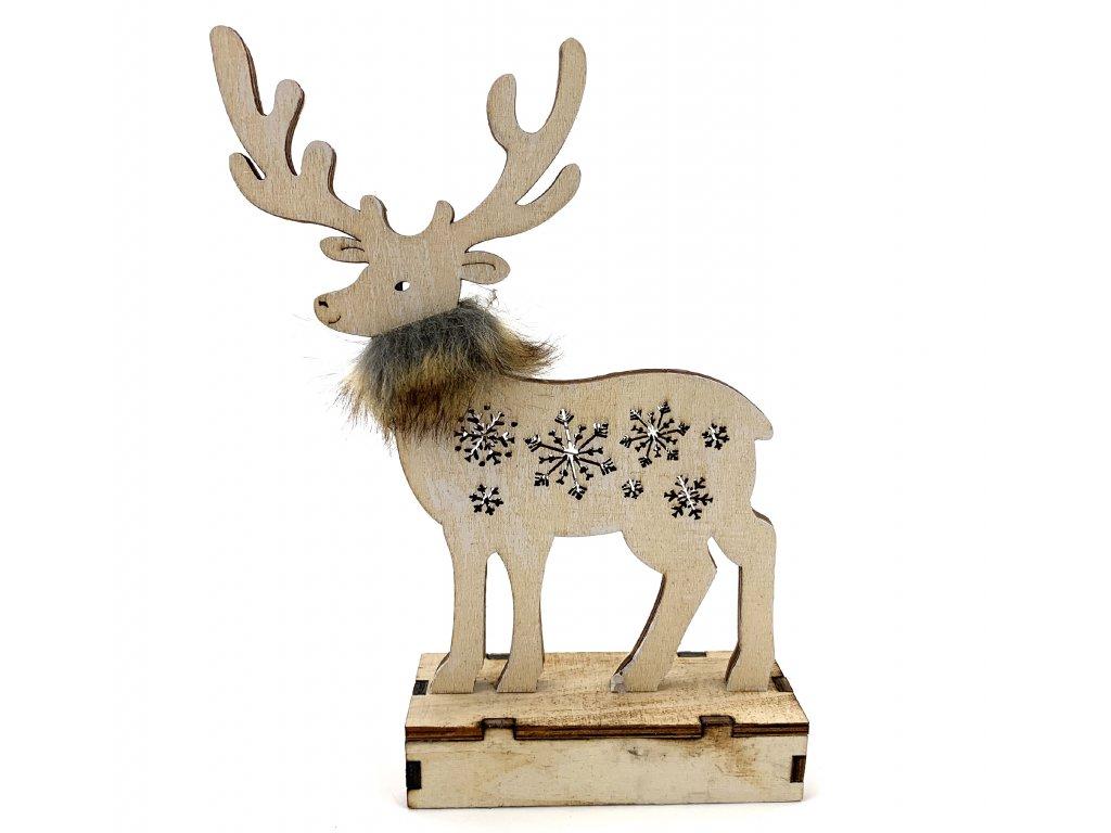 153167 drevena svitici dekorace sob 25 cm