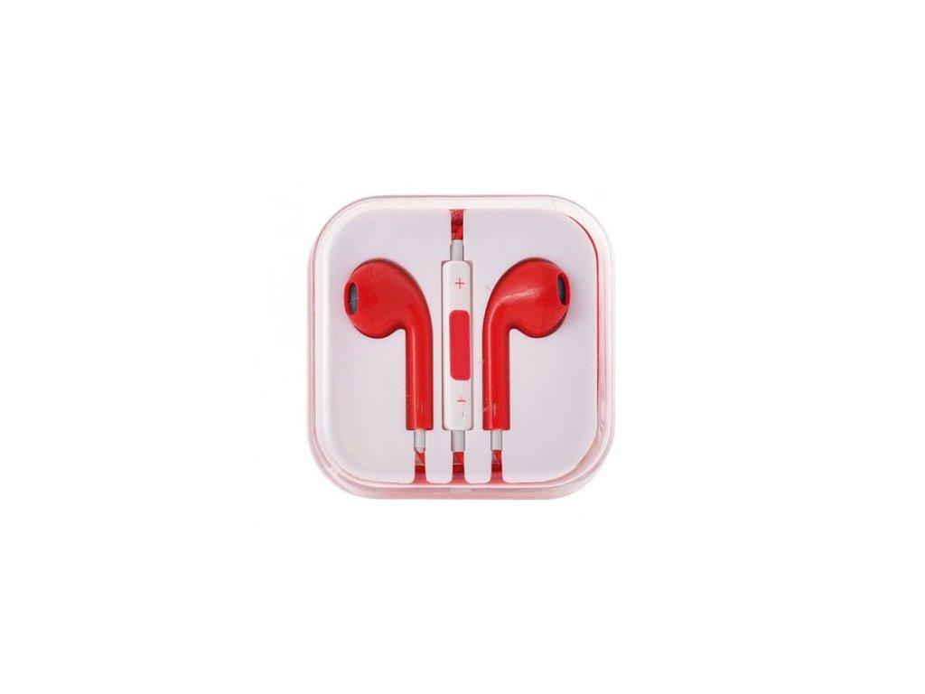 sluchatka earpods pro apple iphoneipad cervena