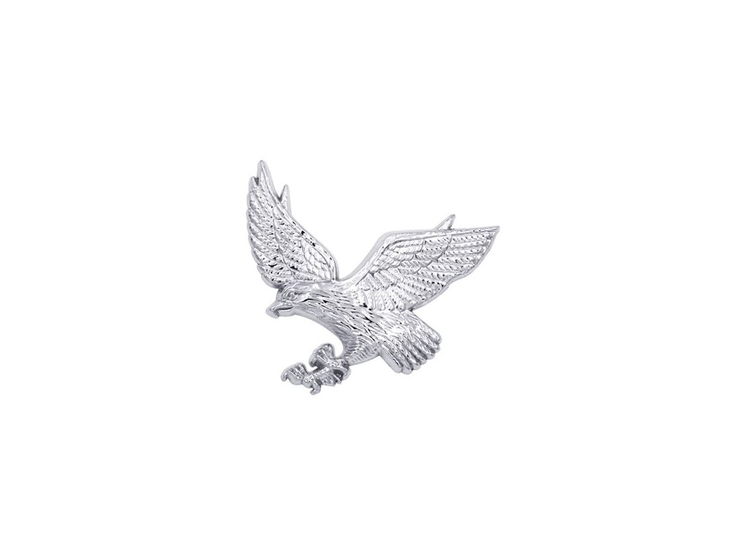 3D Metal Car Decoration Animal Stickers Logo eagle Aluminium Emblem Badge Decal Motorcycle for Auto Styling