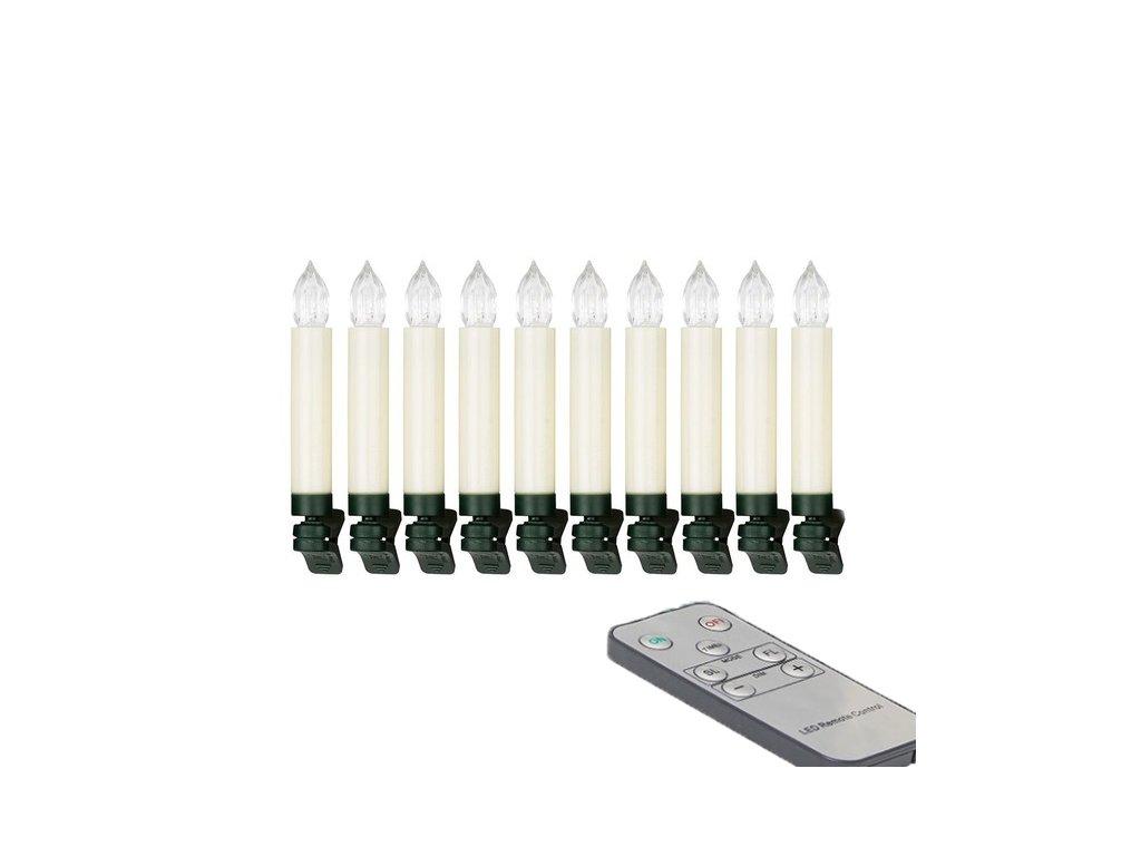 svíčky led