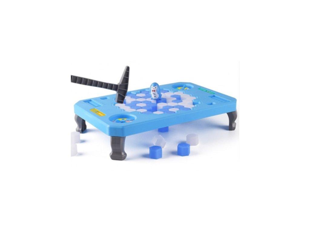 Zábavná společenská hra - Tučňák na ledě (Penguin Trap)