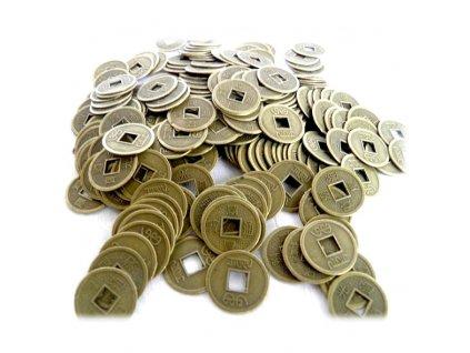 Čínská Mince Pro Štěstí