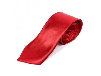 Elegantní Pánská Kravata - Červená