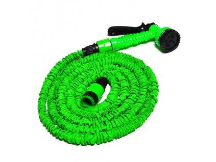 Flexibilní Zahradní Hadice - 15 M + Rozprašovač