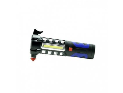 zhejia zj 809 n dzov baterka do auta 2 5v kladivko na sklo no k v stra n svetlo 1