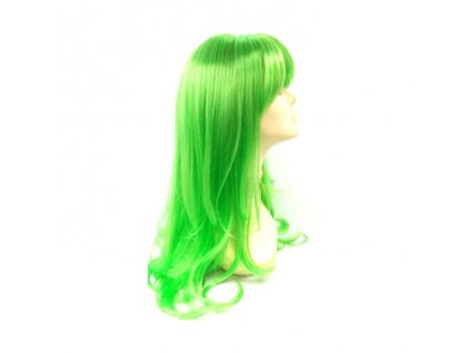 Paruka - Dlouhé Světle Zelené Vlasy