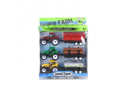 130736 sada 3 traktoru s vleckou
