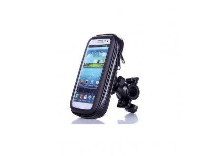 Voděodolný držák mobilu na kolo - Na středovou osu