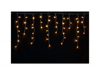 Venkovní vánoční LED závěs - teplá bílá až 630diod (Osvětlení Řetěz 20m - 630 led diod)