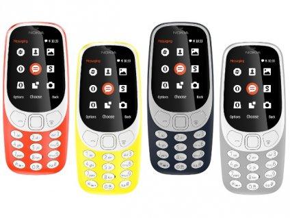 Mobilní telefon 3310 DUAL SIM - různé barvy (2017) (Barva Šedá)