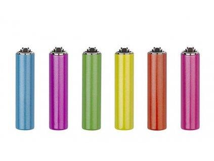 Zapalovač CLIPPER kovový - Happy Colors (Opicka Motiv 1)