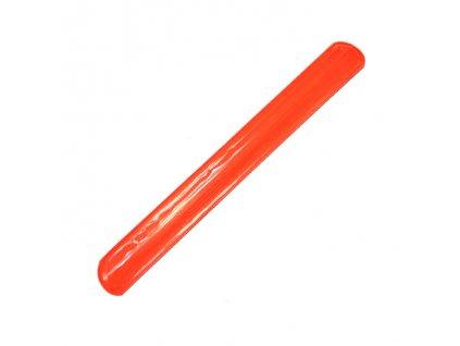 33451 reflexni paska oranzova 25 cm