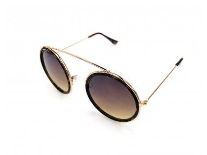 Sluneční Brýle Hipster (Barva Hnědá)
