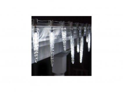 Vánoční LED osvětlení kapající rampouchy - studená bílá (42 cm)