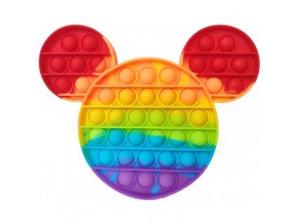 pop it mickey mouse barevny 20cm