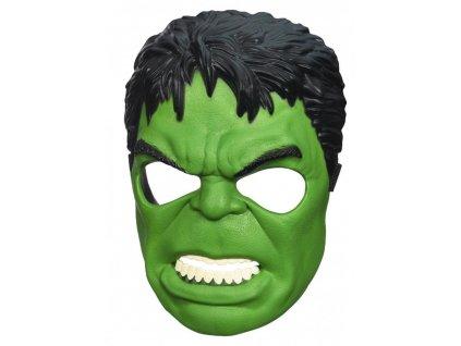 Karnevalová maska - Hulk