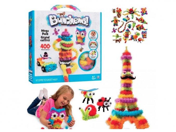 Bunchems kreativní sada 800kusů - Thorn Ball