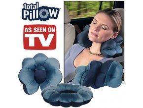 Cestovní  Polštář - Total Pillow (Barva Šedá)