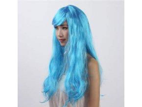 Paruka - Dlouhé Světle Modré Vlasy