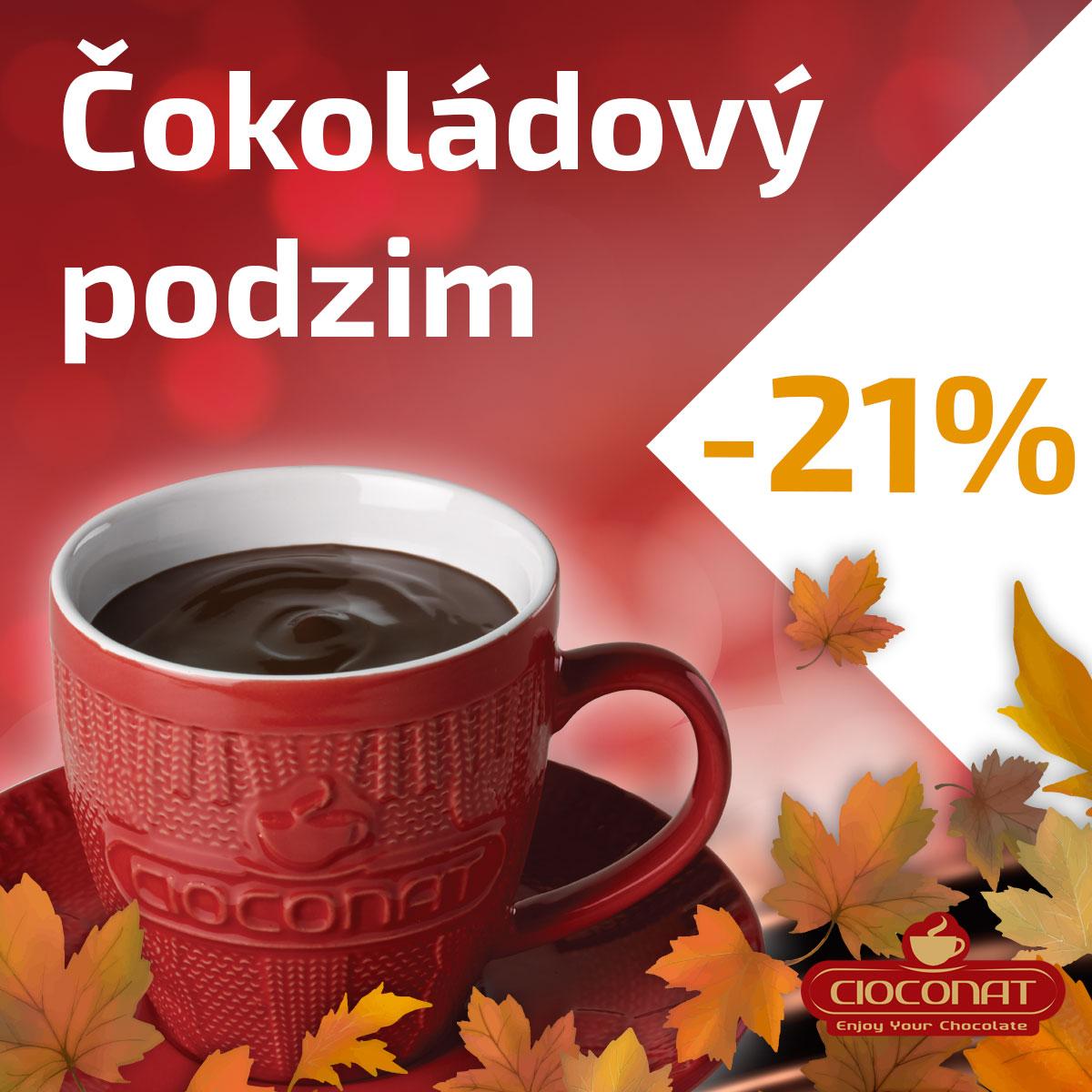 Čokoládový podzim s Cioconat