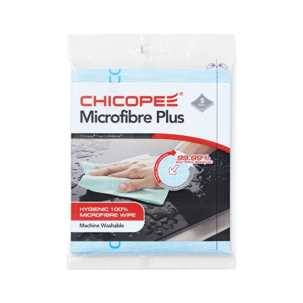 uterky chicopee microfibre plus 34x40 cm5 ks modre