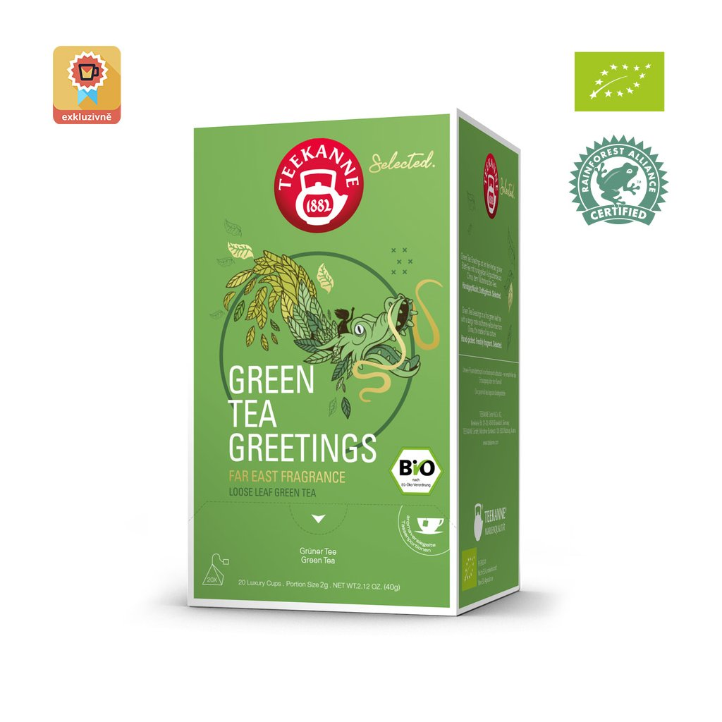 green tea greetings