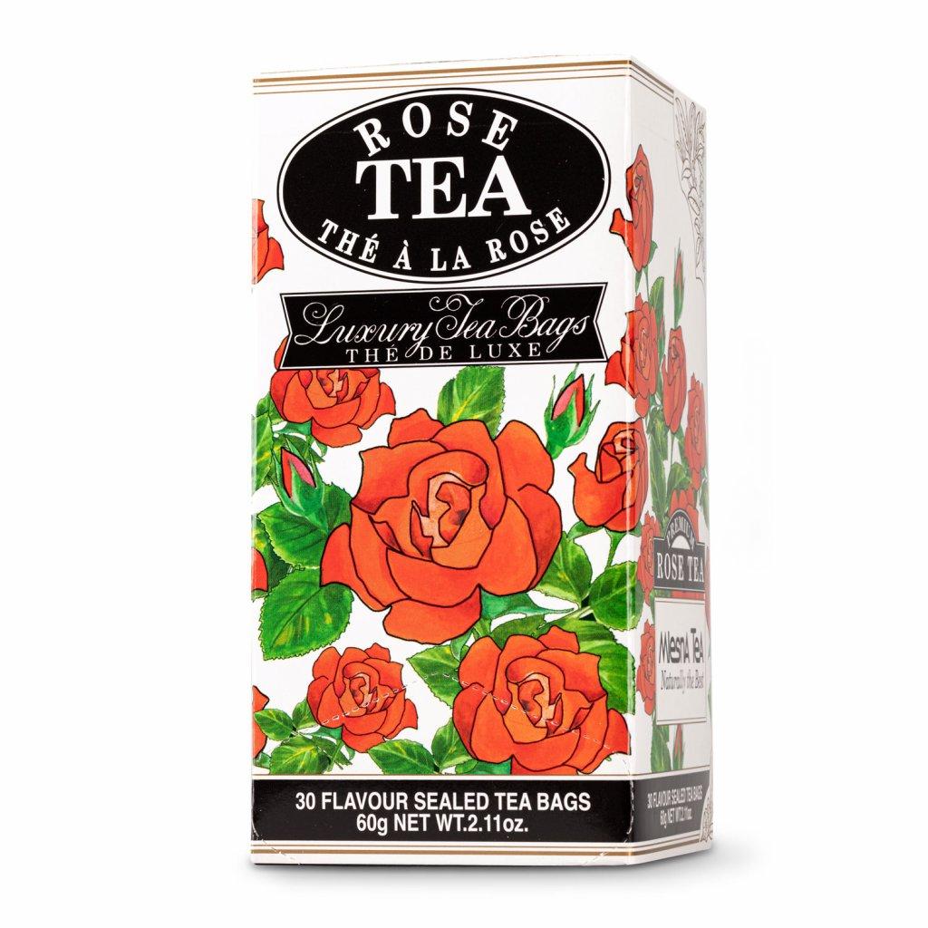mlesna- Růže - černý čaj 30 x 2 g