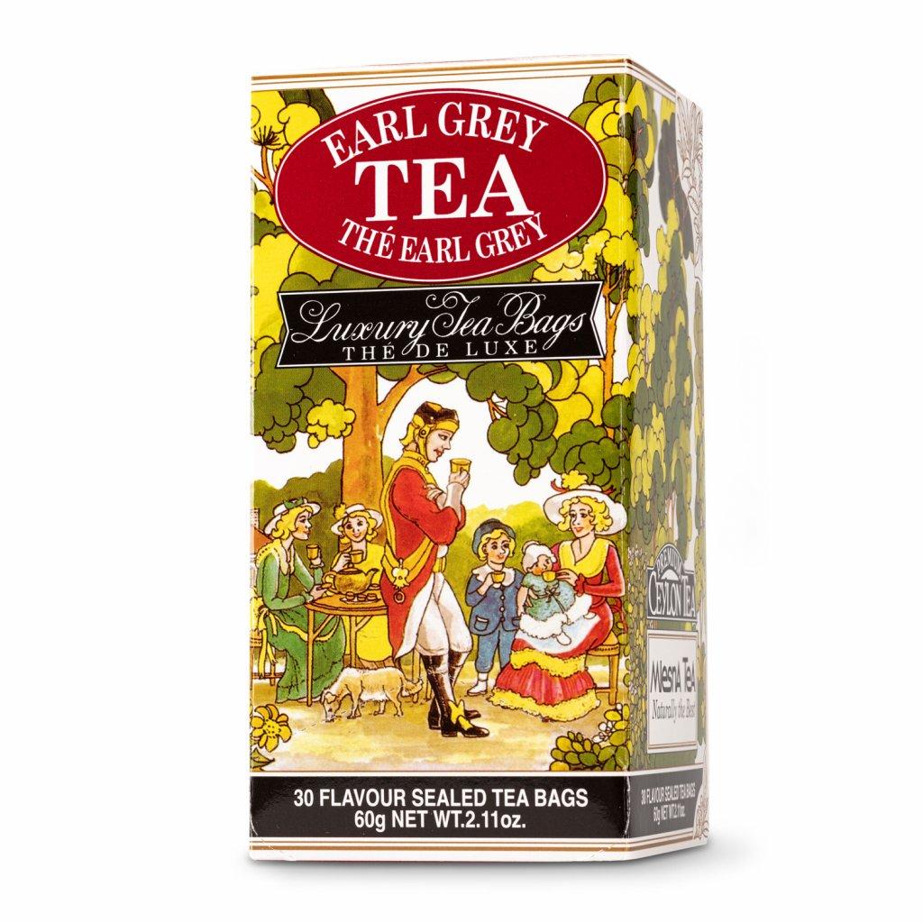 Mlesna - Earl Grey - černý čaj 30 x 2 g