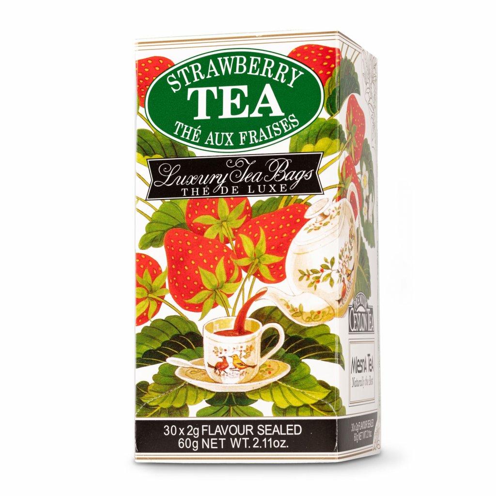 Jahoda - černý čaj 30 x 2 g