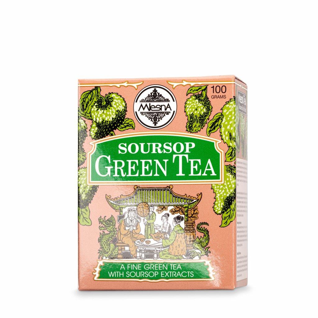 Mlesna - Soursop - zelený čaj 100 g