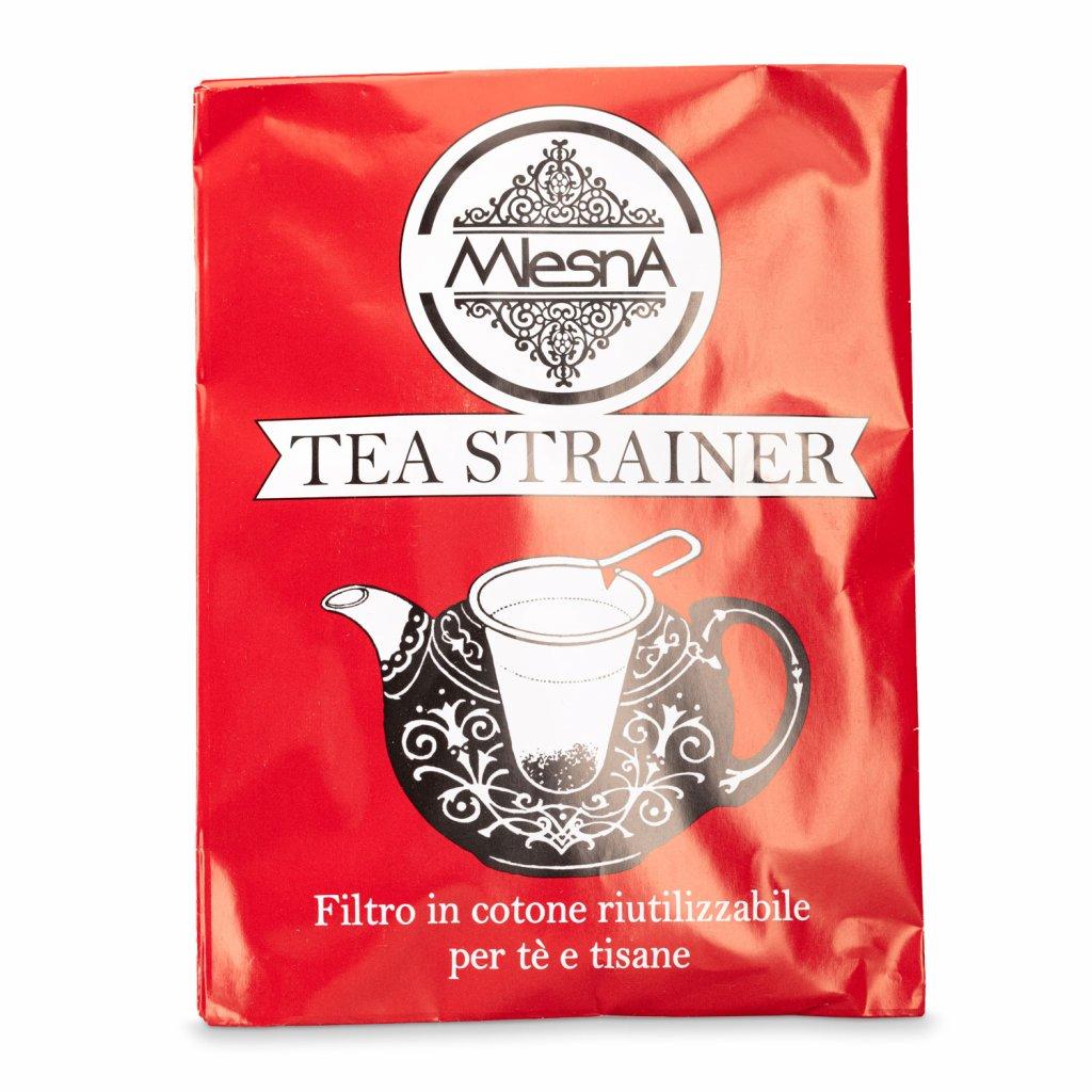 Mlesna - Bavlněné sítko na čaj 90 mm