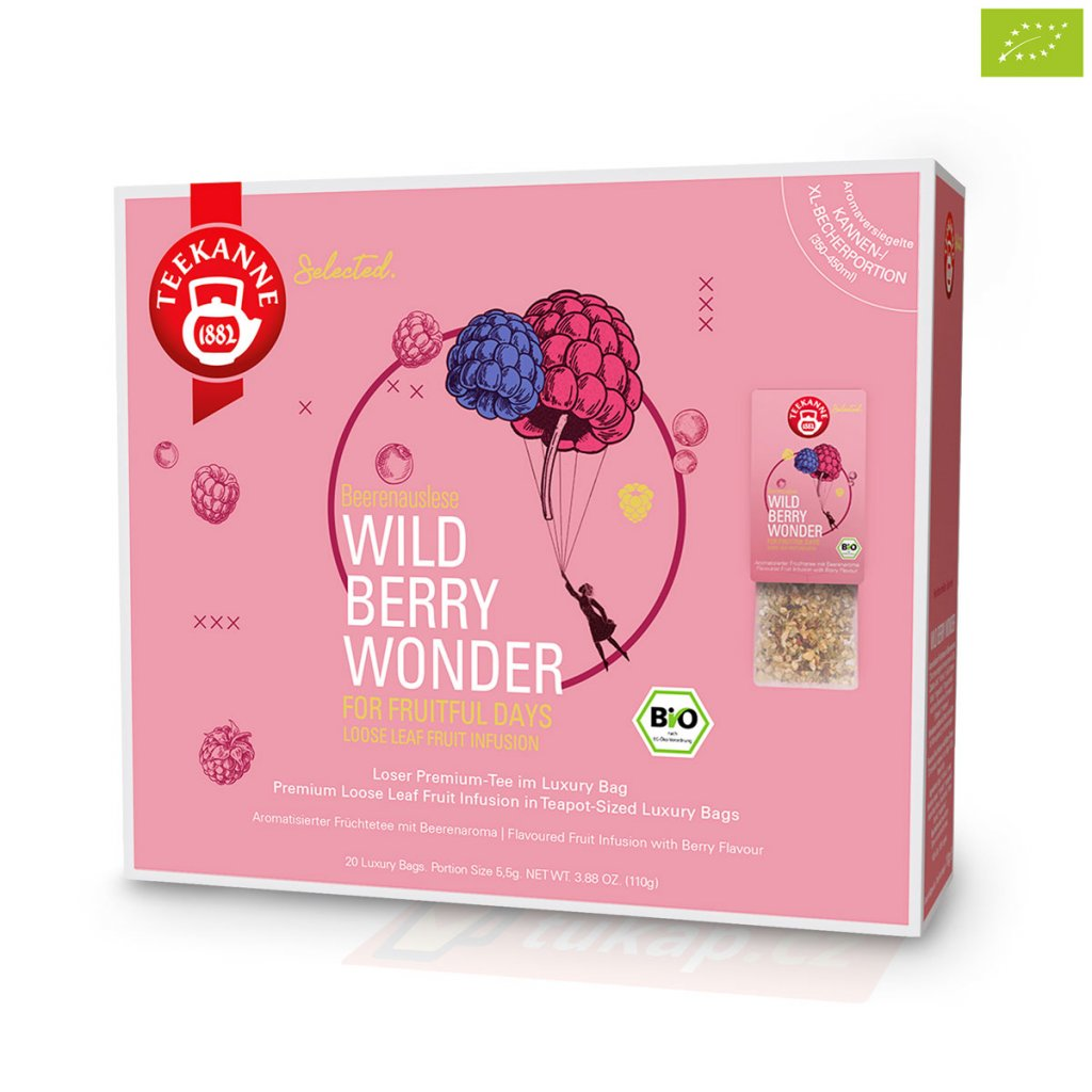 Teekanne Luxry Bag Wild Berry Wonder 4009300017790 63127