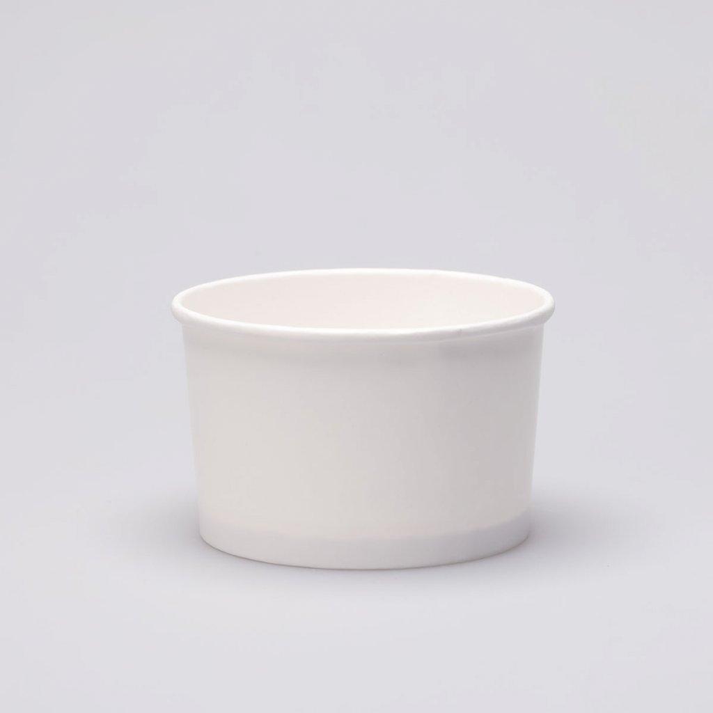 Kelímek na zmrzlinu bílý - 250ml