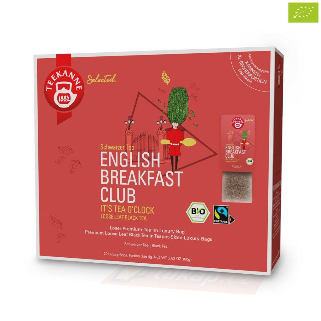 Teekanne Luxry Bag English Breakfast Club 4009300017738 63121