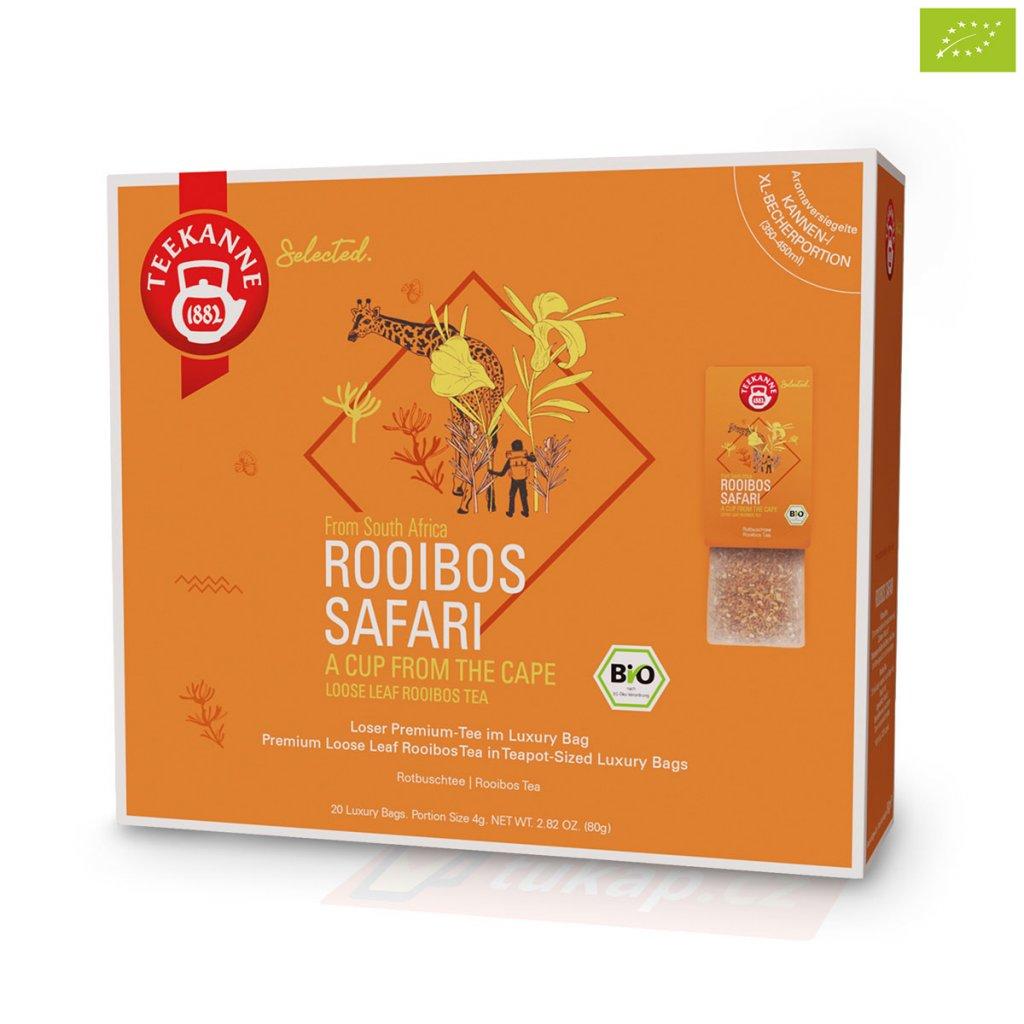 Teekanne Luxry Bag Rooibos Safari 4009300017752 63123