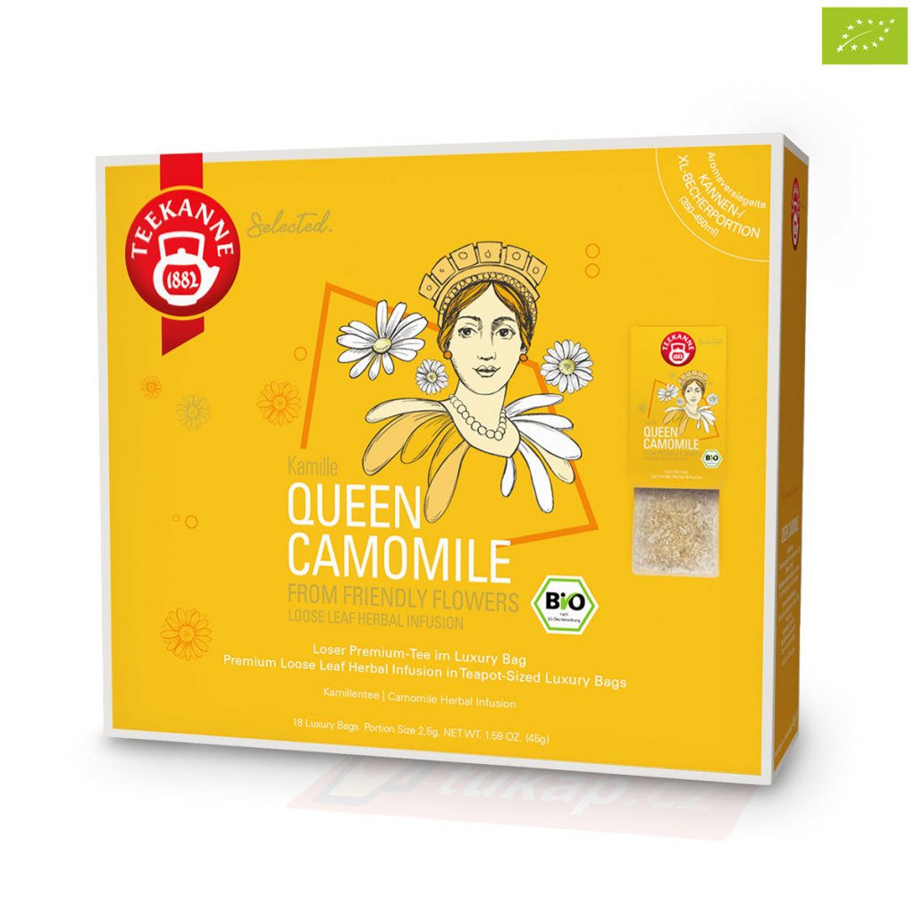Teekanne Luxry Bag Queen Camomile 4009300017776 63125