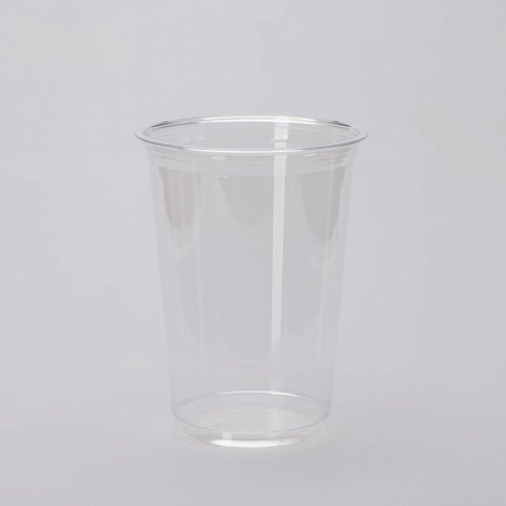 Kelímek na studené nápoje, Transparentní PET 400ml,d-95mm, v-130mm, PET