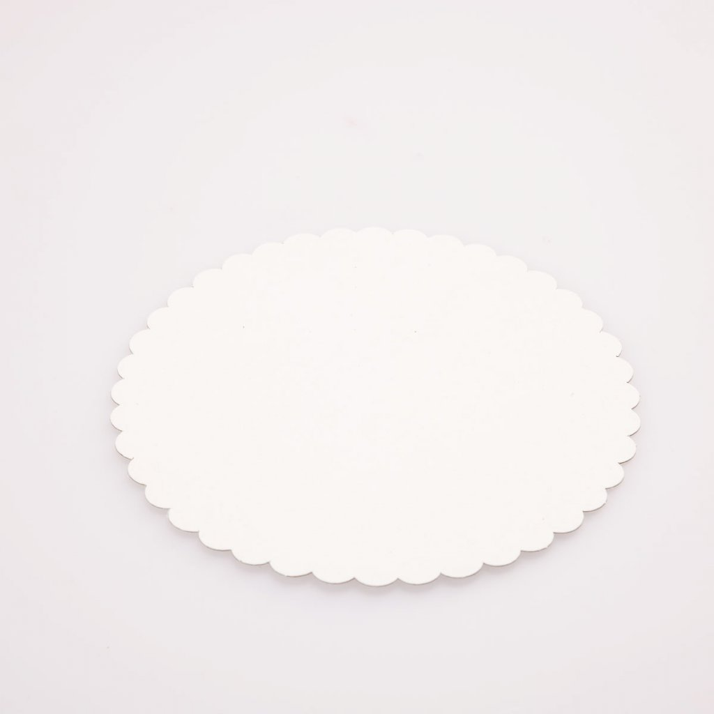 Podložka pod dort 20cm bílá
