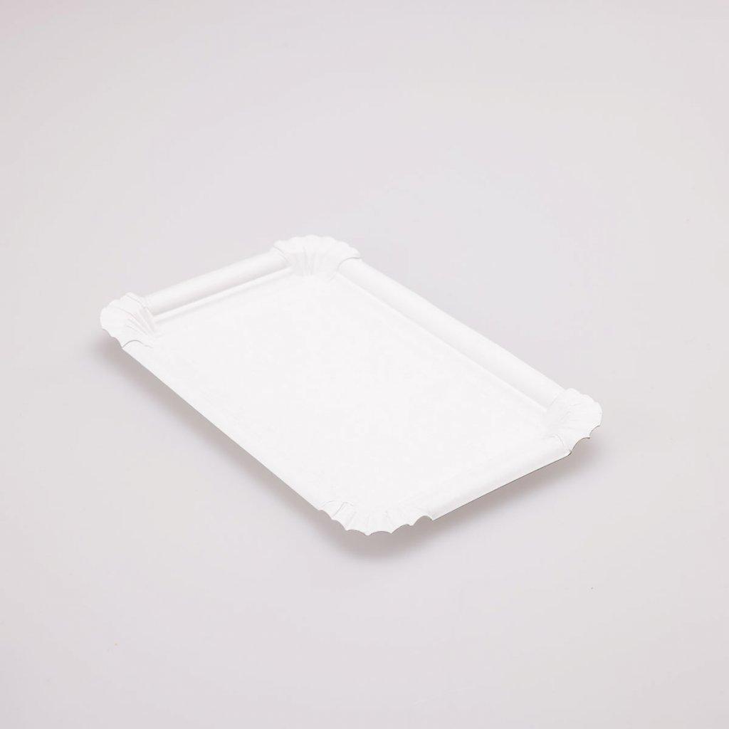 Tácek bílý 280x210mm