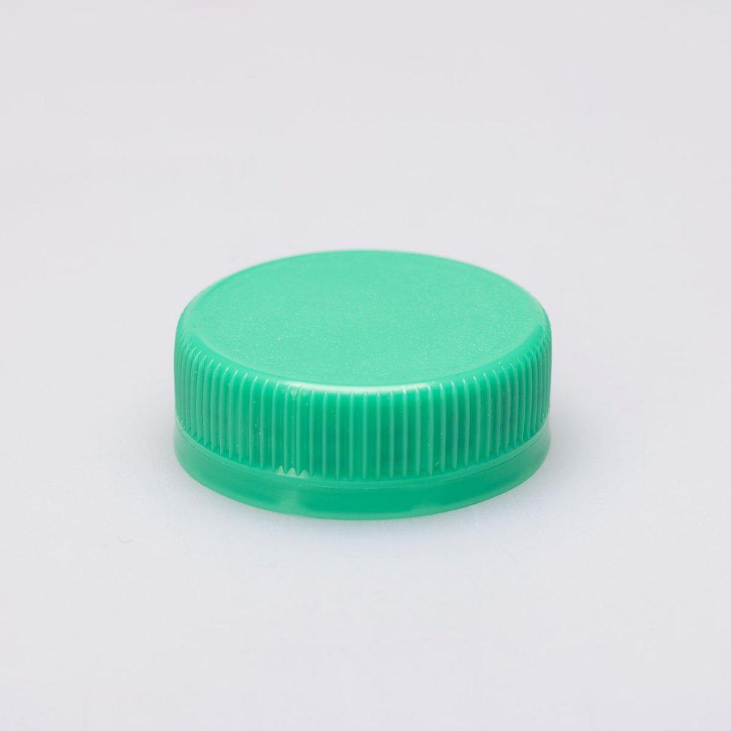 Víčko na láhev PET 38mm, zelené