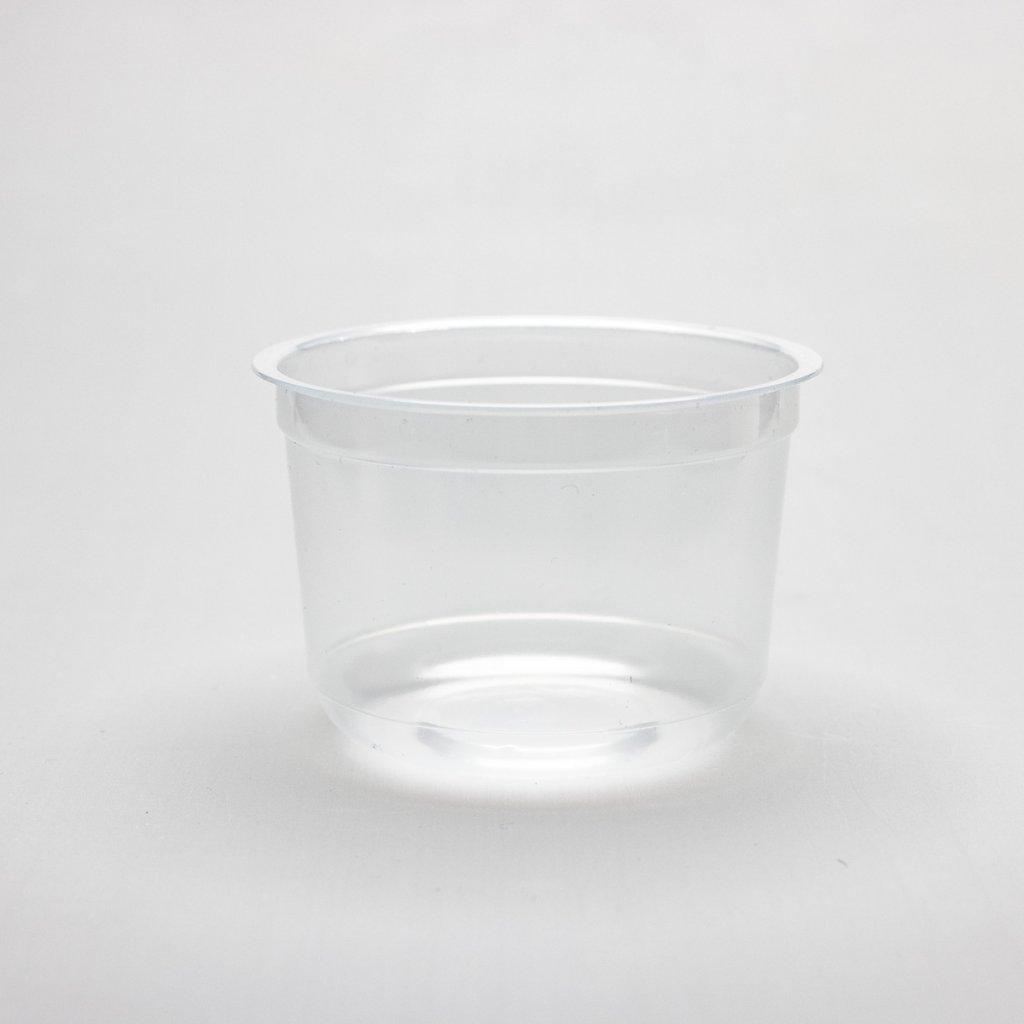 Kelímek na salát, Transparentní, 250ml,d-95mm, PP