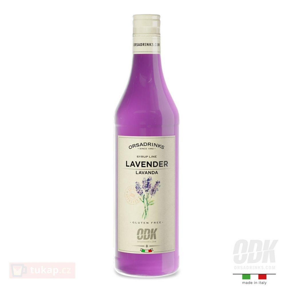 ODK levandulovy sirup lavender