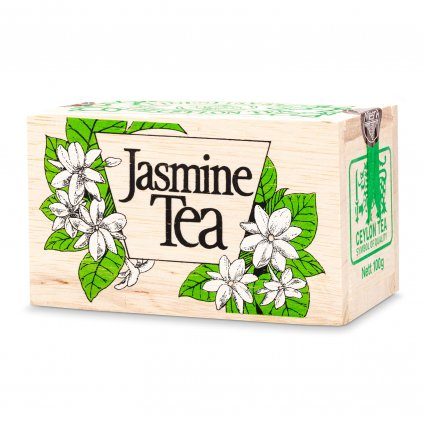 Mlesna - Jasmín - černý čaj - krabička 100 g