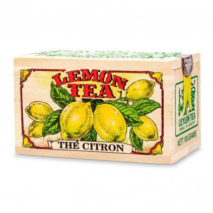 Mlesna - Citron - černý čaj - krabička 100 g