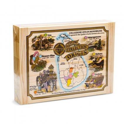 kolekce sesti regionalnich oblasti Mlesna