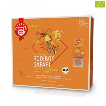 Teekanne Luxry Bag Rooibos Safari 4009300017752 63123