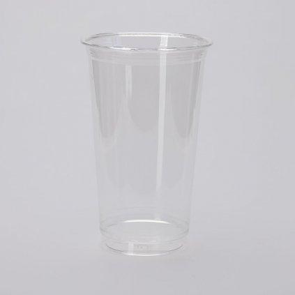 Kelímek na studené nápoje, Transparentní PET 500ml,d-95mm, v-150mm, PET