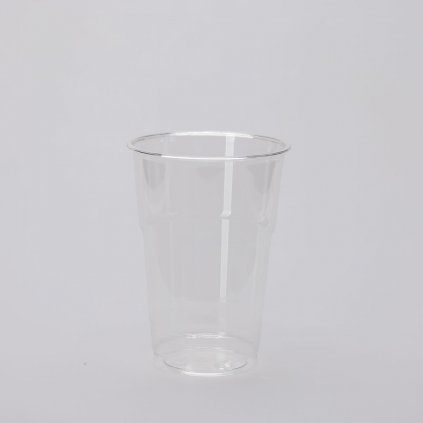Kelímek na studené nápoje, Transparentní, 250/300ml,d-78mm, PET