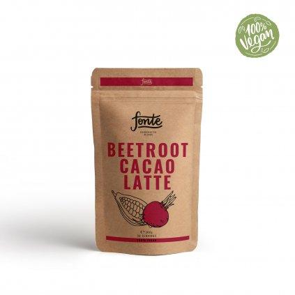 fonte Beetroot Cacao Latte repove latte