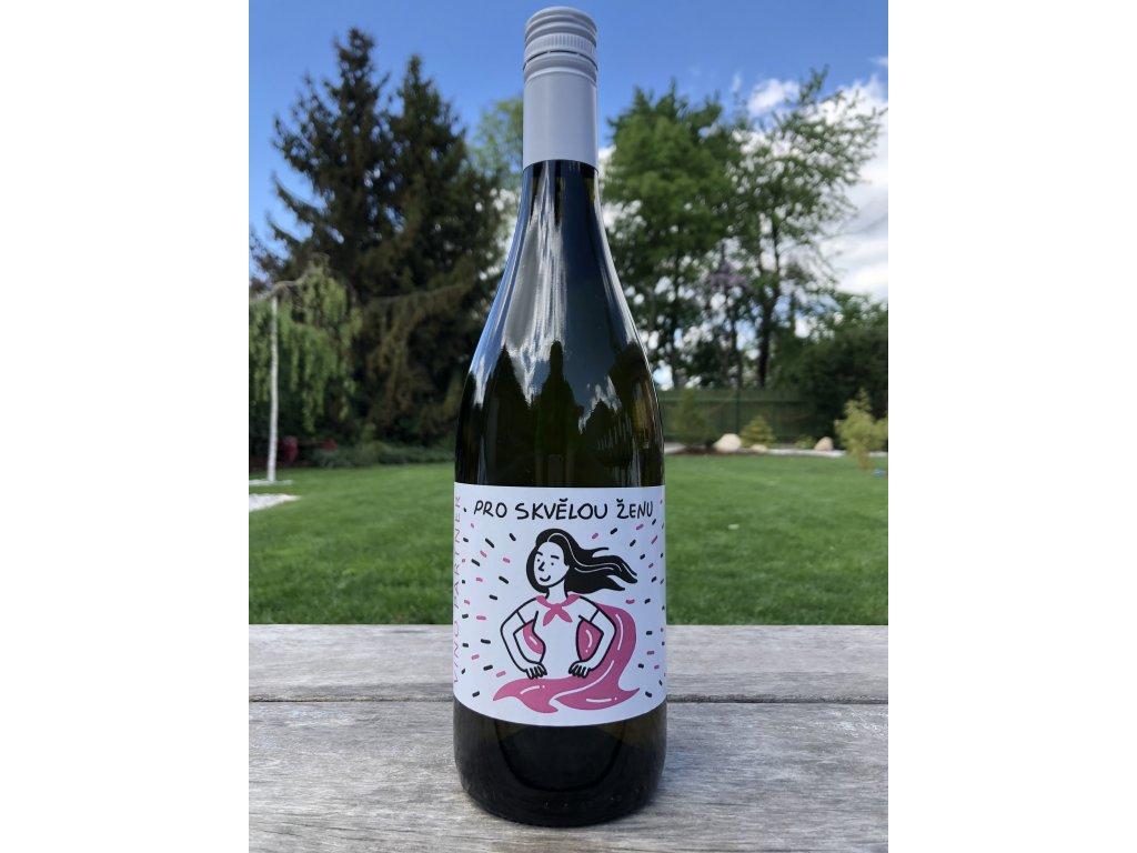 Víno pro skvělou ženu